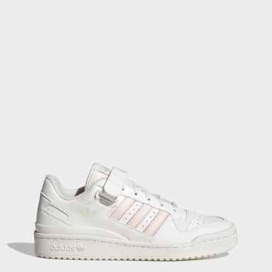 Sapatos Crest Forum Low Branco Mulher Originals