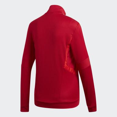 Veste d'entraînement Tiro 19 rouge Femmes Soccer
