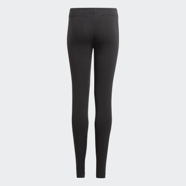 Girls Lifestyle Black adidas Essentials Tights