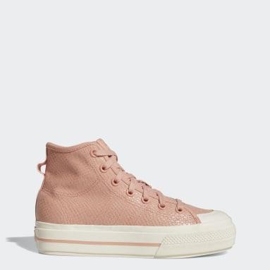 Nizza RF Platform Mid Shoes Różowy