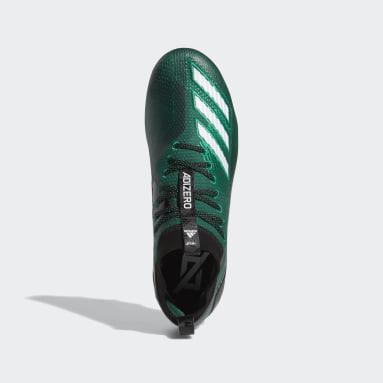Men's Football Green Adizero 8.0 Cleats