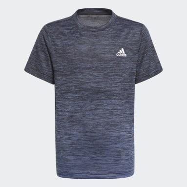 Camiseta AEROREADY Gradient Negro Niño Gimnasio Y Entrenamiento