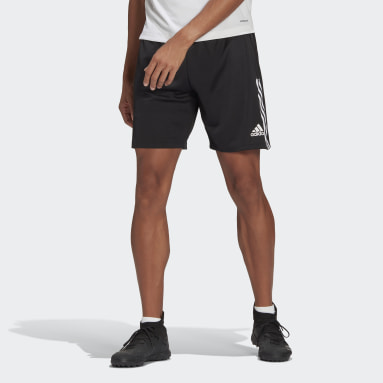Men Football Black Tiro Training Shorts