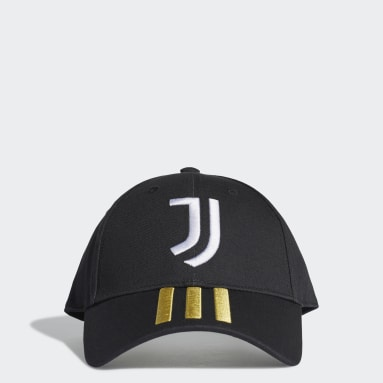 Football Black Juventus Baseball Cap