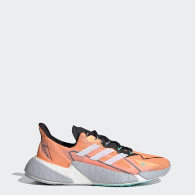Men Running Orange X9000L4 HEAT.RDY Shoes