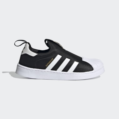 Children Originals Black Superstar 360 Shoes