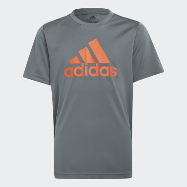 Polo adidas Designed To Move Big Logo Azul Niño Training