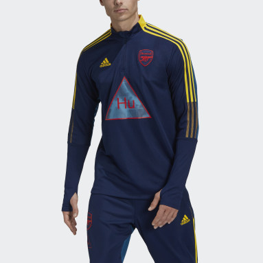 Men's Training Blue Arsenal Human Race Training Top