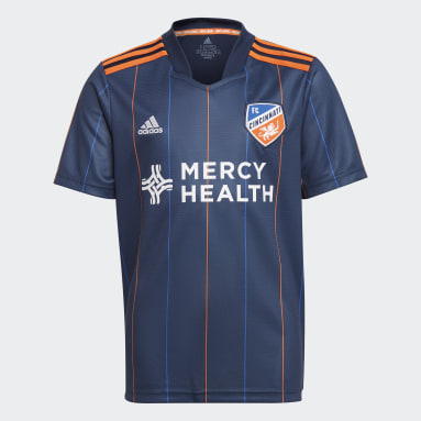 Youth Soccer Blue FC Cincinnati 21/22 Home Jersey