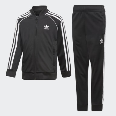 Kids Originals Black SST Track Suit
