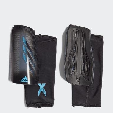 Men Football Grey X 20 League Shin Guards