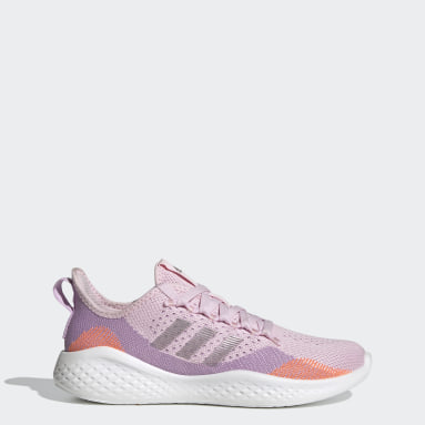 Women Running Purple Fluidflow 2.0 Shoes