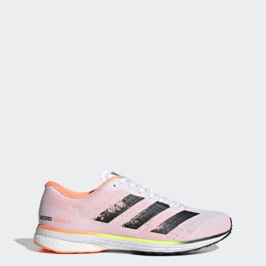 Løb Hvid Adizero Adios 5 sko