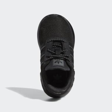 Kids Originals Black ZX 2K Flux Shoes