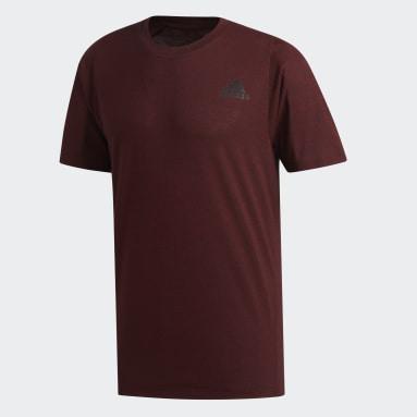 Heren Fitness En Training Rood FreeLift Sport Prime Gemêleerd T-shirt