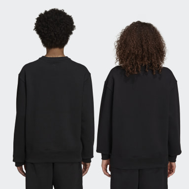 Originals Black Pharrell Williams Basics Crew Sweatshirt (Gender Neutral)