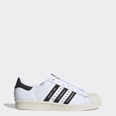 Sapatos Superstar 80s Human Made Branco Originals