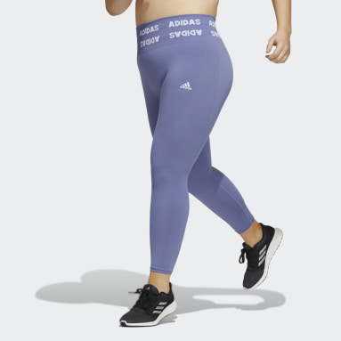 Training Aeroknit 7/8 High-Rise Tights (Plus Size) Fioletowy