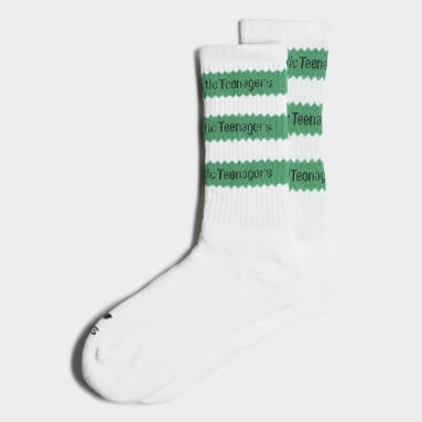 Men Originals White Human Made Socks