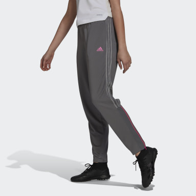 Women Football Grey Tiro Transparent Pants