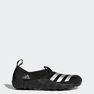 Çocuklar Outdoor Siyah Terrex Jawpaw Su Ayakkabısı