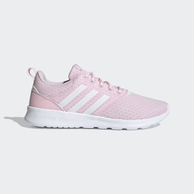 Women Walking Pink QT Racer 2.0 Shoes