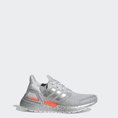 Youth 8-16 Years Running Grey Ultraboost 20 Shoes