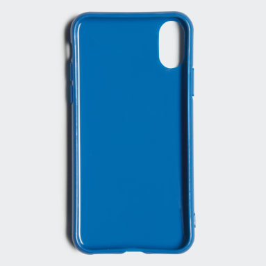 Funda iPhone X Snap Trefoil Azul Originals