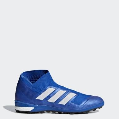 Calzado de fútbol Nemeziz Tango 18+ Césped artificial Azul Hombre Fútbol