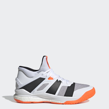 Men's Training White Stabil X Mid Shoes