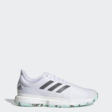 Tennis Parley SoleCourt Schuh Weiß