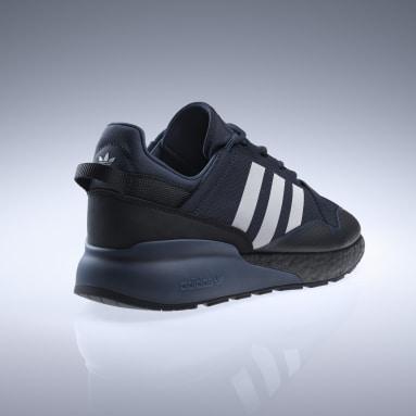 Men's Originals Blue ZX 2K Boost Pure Shoes