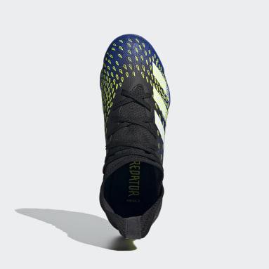 Botas de Futebol Predator Freak.3 – Piso sintético Preto Rapazes Futebol