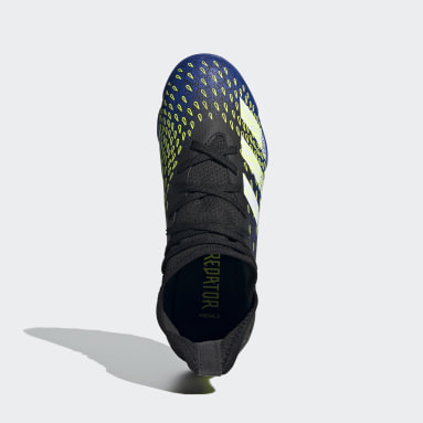Chaussure Predator Freak.3 Terrain turf noir Enfants Soccer