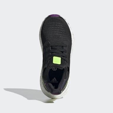 Children Running Black Ultraboost 20 Shoes
