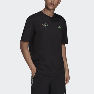 Men Running Black Signature T-Shirt