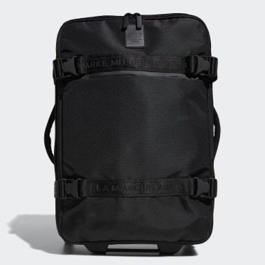 Football Black Stadium Wheeled Bag