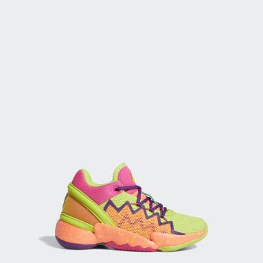 Children Basketball Orange Donovan Mitchell D.O.N. Issue #2 Shoes