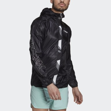 Men TERREX Black Terrex Agravic Pro WIND.RDY Windbreaker