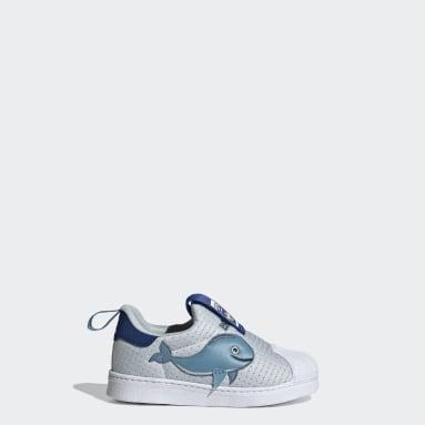 Infant & Toddler Originals Blue Superstar 360 Primeblue Shoes