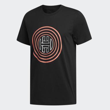 Men's Basketball Black Harden Vol. 4 Logo Tee