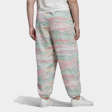 Women's Originals Multicolor R.Y.V. Track Pants (Plus Size)