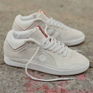 Chaussure Tyshawn x Thrasher blanc Originals