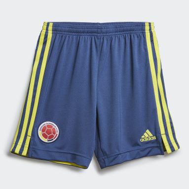 Shorts de Local Colombia Azul Niño Fútbol