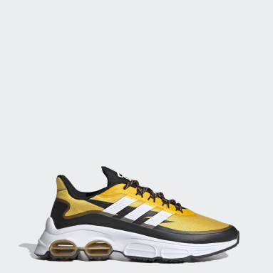 Zapatillas Quadcube Amarillo Hombre Diseño Deportivo