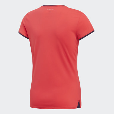 Youth Tennis Red Club Tee