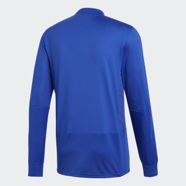 Camiseta manga larga entrenamiento Condivo 18 Player Focus Azul Hombre Gimnasio Y Entrenamiento