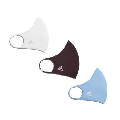 Mascara Facial Adidas (Pack De 3) Branco Originals
