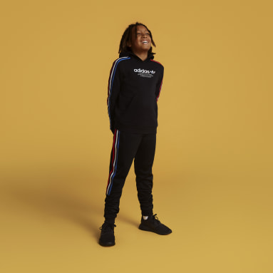 Youth 8-16 Years Originals Black Adicolor Hoodie