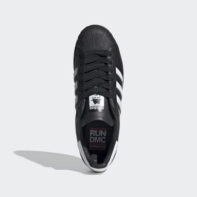 Chaussure Superstar Run-DMC noir Originals